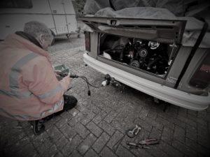 Towbar repair