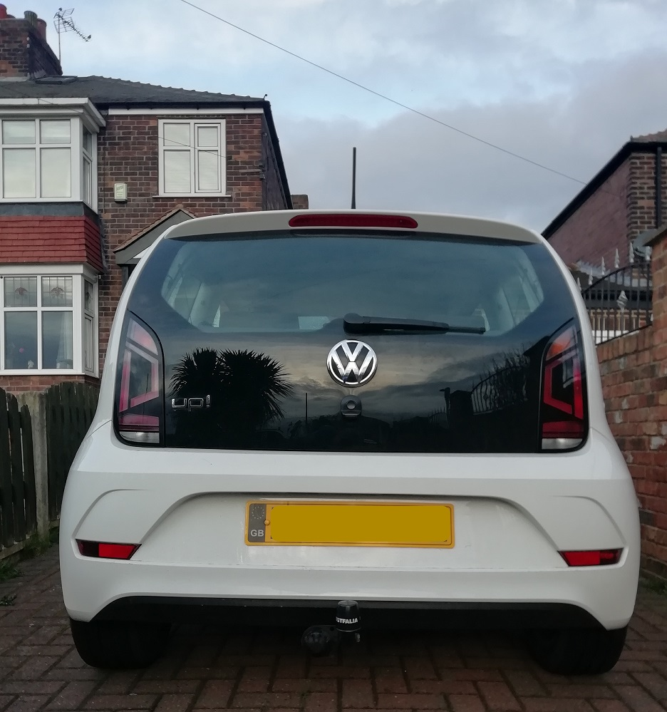 VW UP! Towbar image