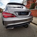 Mercedes tow bar fitting